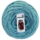 Pelote de Grosse Laine à Tricoter - 100% Grosse Laine du Pérou - Fil de laine pour tricoter en 15mm ...