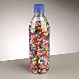 Perles Nabbi fondre mixte en bouteille, en plastique, couleurs de base, 3500-piece
