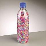 Perles Nabbi fondre mixte en bouteille, en plastique,, paillettes, 3500-piece
