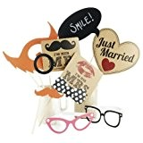 Photo Booth style de mariage / Parti Props Kit Vintage