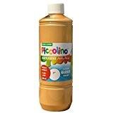PICCOLINO Hobby Paint - Couleur peinture acrylique brillante - flacon de 500ml, Or