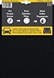 Pièce adhésive de réparation de cuir et vinyle (Noir)