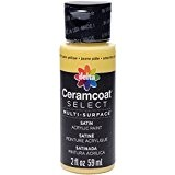 Plaid?: Delta Ceramcoat Select Peinture multi-surfaces Jaune pâle 15 ml
