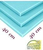 Plaque de mousse de polyuréthane RG 35/43 40/40/5cm pour tapisserie d'ameublement coussin siège P038