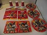 Power Rangers Kit de fête pour 30 personnes