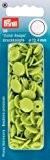 Prym 30 Boutons Pression Color-Snaps 12,4 mm ronde pomme verte
