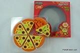 Puzzle Kawaii Gommes - 6 tranches de jambon et de fromage Pizza dans tubé Box