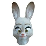 Queenshiny® latex masque animal (Lapin Judy)