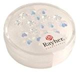 Rayher Hobby  14231120Fleur Cristal Swarovski Diamètre 6mm 20pieces moonstone