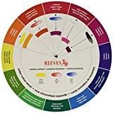 Reeves Cercle chromatique aquarelle