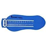 Règle à Mesurer la Longueur du Pied pour Enfant Bébé Plage de Réglage: 6 -20cm (Bleu)