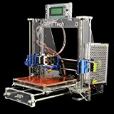 Ridgeyard Transparent Printer Aluminum 3D DIY Kit complet pour SD Reprap Prusa i3 Mk2A Heatbed MK8 Card / USB