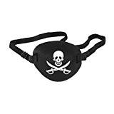 ROSENICE Pirate Cache Oeil Enfants Oeil Masque avec Crâne Crossbone Costumé Fête Faveur