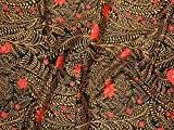 ROWAN KAFFE Fassett printemps 2015Fougères Coupons de tissu en popeline noir-par Fat Quarter + sans Minerva Crafts Craft Guide
