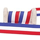 Ruban drapeau français au mètre - 10, 15 ou 25mm - 15 mm