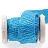 Ruban sangle coton au mètre - Bleu - 30 mm