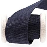 Ruban sangle coton au mètre - Bleu marine - 40 mm