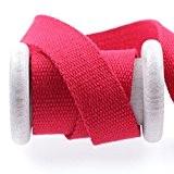 Ruban sangle coton au mètre - Rouge - 25 mm