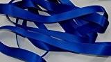 Ruban Satin Luxe Double Face 25 mm Coloris Bleu Roi 2 Mètres