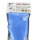 Sable végétal pour bougie - Bleu - sachet 250g