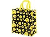 Sac de courses shopping en nylon rigide de qualité supérieure (Alsino P622013) Smiley émoticône Ultra rigolo, Idée de cadeau noel ...