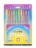 Sakura stylos gel, Lot de 10, multicolore