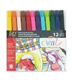 Sakura XBR-12SA 12-Piece Koi Assorted Coloring Brush Pen Set by Sakura of America