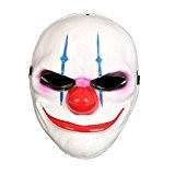 SALICO Fantaisie Halloween Fête costumée Animal Déguisement en latex Masque de clown (02-Chains)