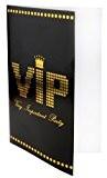 SANTEX 4235-11, Sachet de 10 Cartes d'invitation, menu ou faire-part VIP