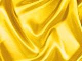 Satin de polyester-jaune - 150 cm