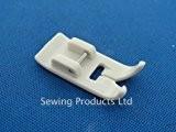 Sewing supplies direct Pied-de-biche téflon à clipser pour machine à coudre Brother, Janome, Toyota ET Singer