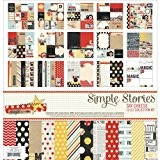 Simple Stories Papier Simple Stories Collection Kit 30,5cm x 30,5cm, dire fromage