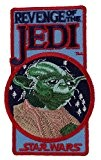 """STAR WARS Revenge of the Jedi-Yoda Patch pièce Iron-On / Sew-On Disney Officially Licensed Movie & TV Artwork Création, 3.8"""" ..."""