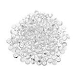 Strass Diamant en Acrylique pour DIY Décoration de Mariage de Fête Artisanal Décor - Clair, 200pcs 10mm