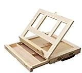 sunghye bois réglable Table Bureau Dessin Peinture Chevalet avec tiroir
