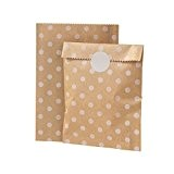 Talking Tables Mix and match Sac à friandises kraft dot lot de 10