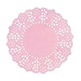Talking Tables MIX-DOILY-PK Mélanger et Assortir Pack de 100 Mini-Napperons Papier Rose 1,2 x 11,5 x 14,9 cm