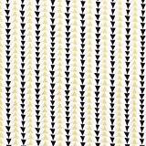 Tissu coton bio graphique triangle