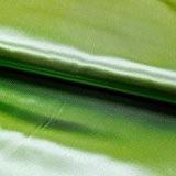 Tissu Satin uni Vert pomme - Au mètre