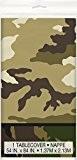 Unique Party - 48523 - Nappe en Plastique Camouflage Militaire - 213 cm x 137 cm