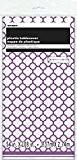 Unique Party - 50422 - Nappe - Plastique - Motif Quadrilobé - 2,74 x 1,37 m - Violet