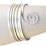 Vaessen creative fil aluminium embossé plat - argent - 5mx1mm