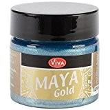 Viva décor Maya or 50ml-Turquoise