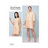 Gratuit Minerva Crafts Craft Guide Vogue Patterns Mesdames Patron de Couture Facile 9115/tr/ès ample unline Kimono pour femme