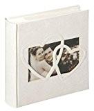 Walther, Album Mémo de Mariage Pour 200 Photos, Sweet Heart, ME-123, Crême