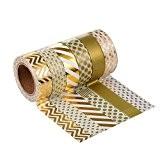 Washi Tape Masking Tape-Ruban de masquage pour décoratif-6rouleaux Style 05