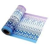 Washi Tape Masking Tape-Ruban de masquage pour décoratif-6rouleaux Style C10