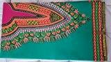 WAX TISSU PAGNE AFRICAIN MODELE ADDIS ABEBA TYPE JAVA GRIS imprimé DASHIKI 6 YARDS COTON