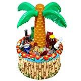 Widmann 04865-gonflable palmier boissons Cooler