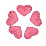 yalulu10pcs Fer Sur les patchs Star à cœur à paillettes à coudre Patches Stickers pour vêtements pour femme sacs accessoires ...